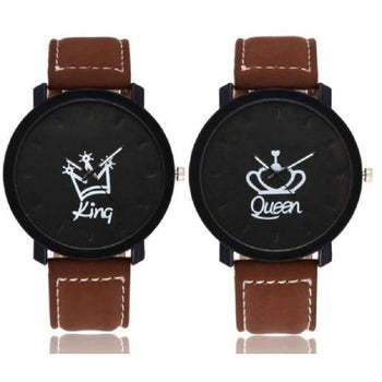 Montres Couple King & Queen