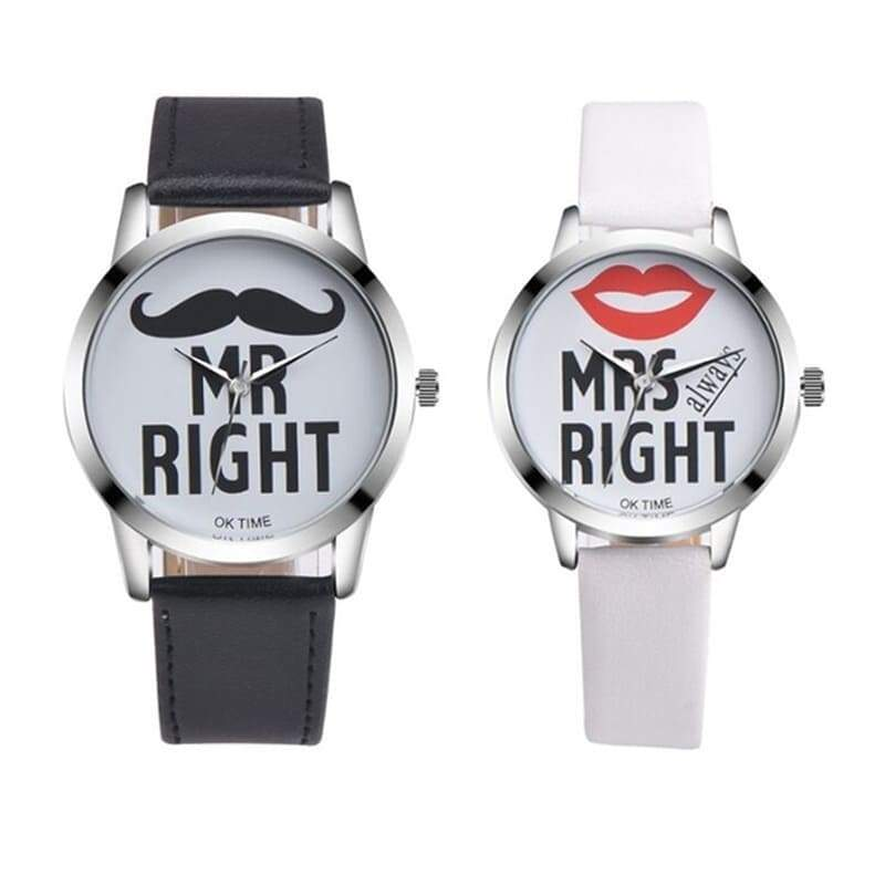 Montre Couple <br/> Monsieur Madame