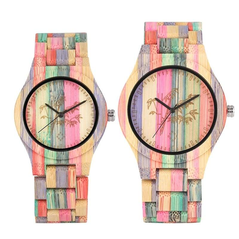 Montre Couple <br/> Natural Time
