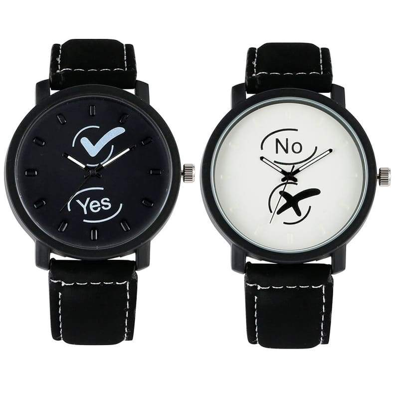 Montre Couple <br/> Yes & No