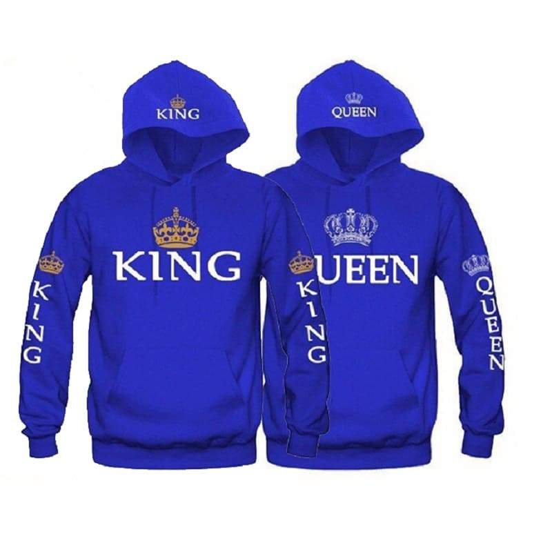 Sweat Shirts Couple King & Queen