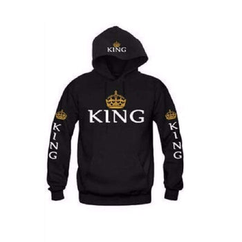 Sweat Shirts  Lovers Couple King Queen