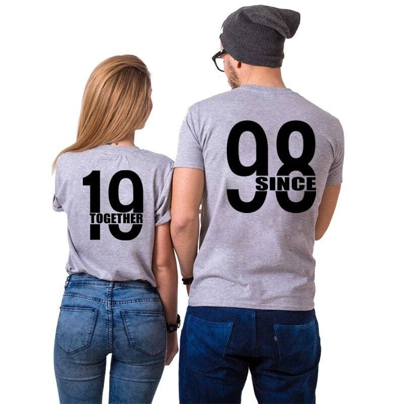 T Shirt Couple 1998
