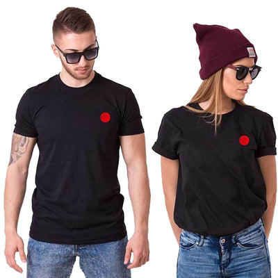 T Shirt Couple Point Commun