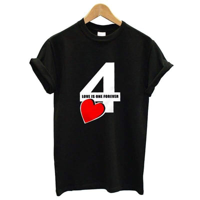 T shirt couple for ever pour homme insta couple la boutique de tous la boutique de tous les couples