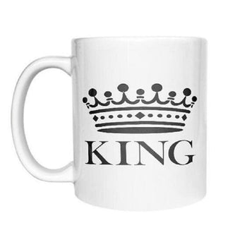 Tasse Couple King Queen Homme Insta-Couple®