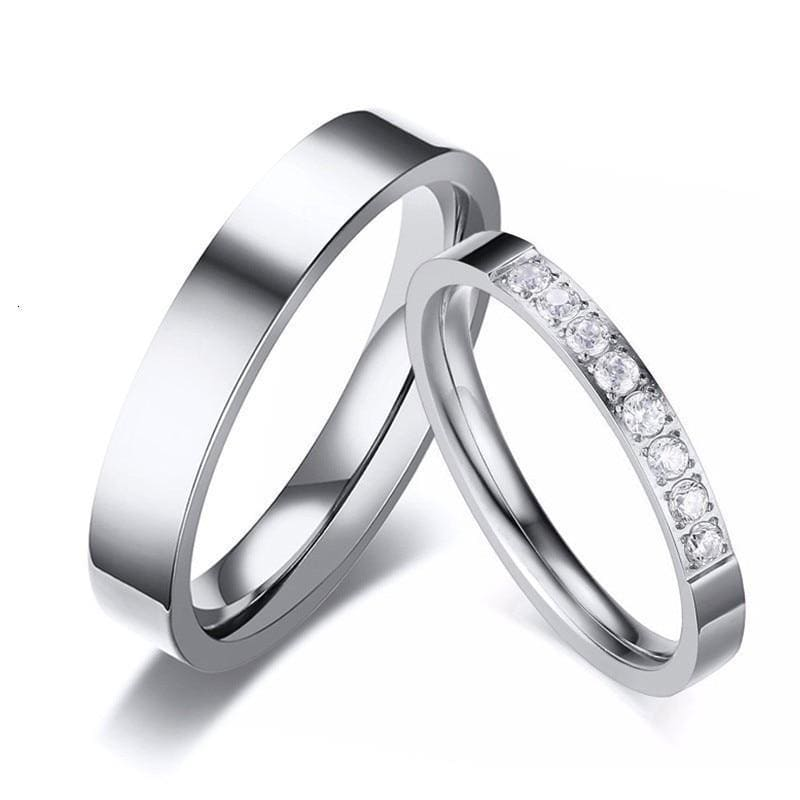 Bague Couple <br/> Ange
