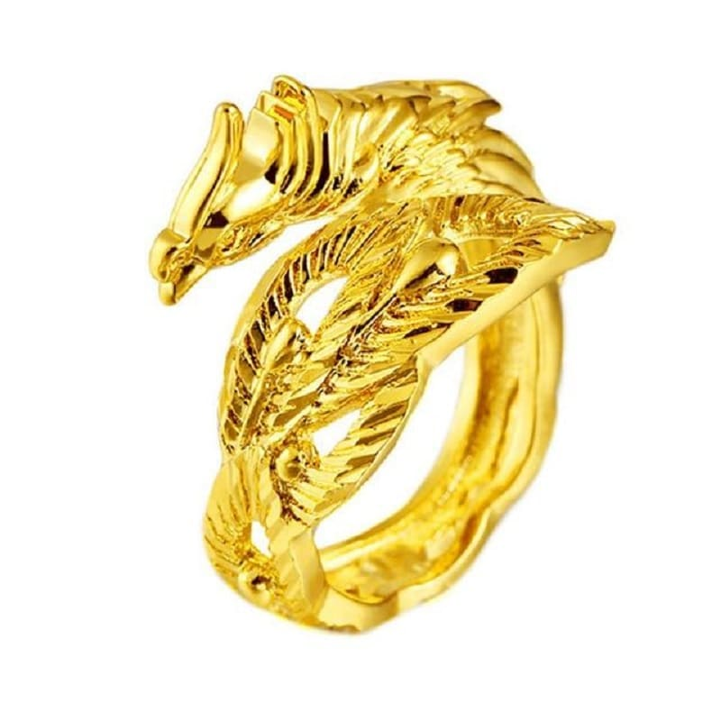 Bague Couple Dragon Femme Insta-Couple