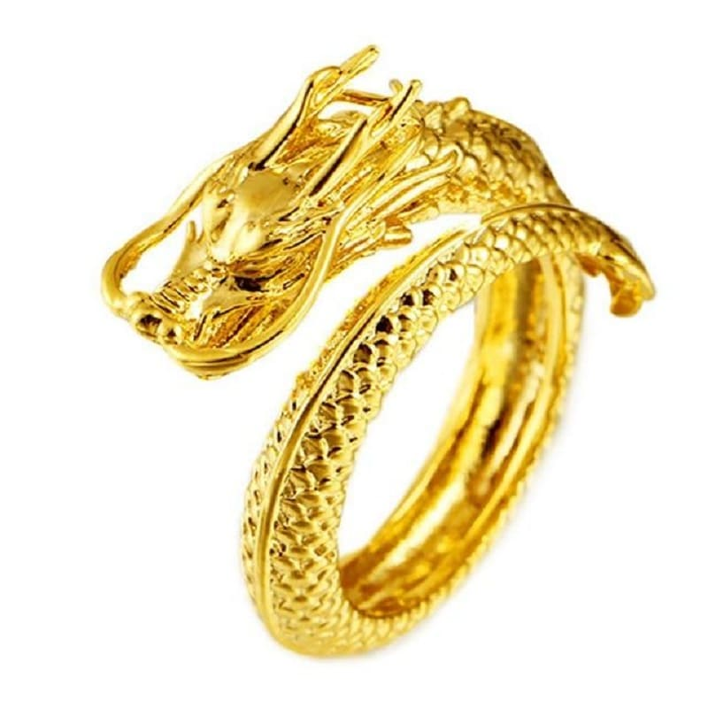 Bague Couple Dragon Homme Insta-Couple