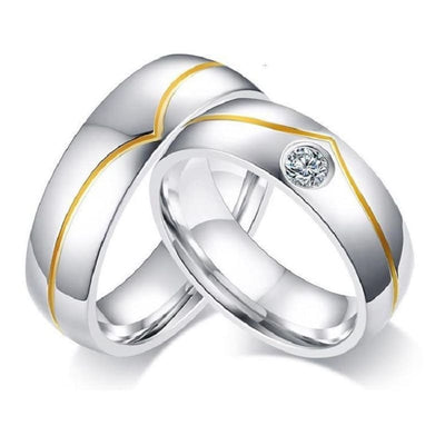 Bague Couple Elegance Insta-couple