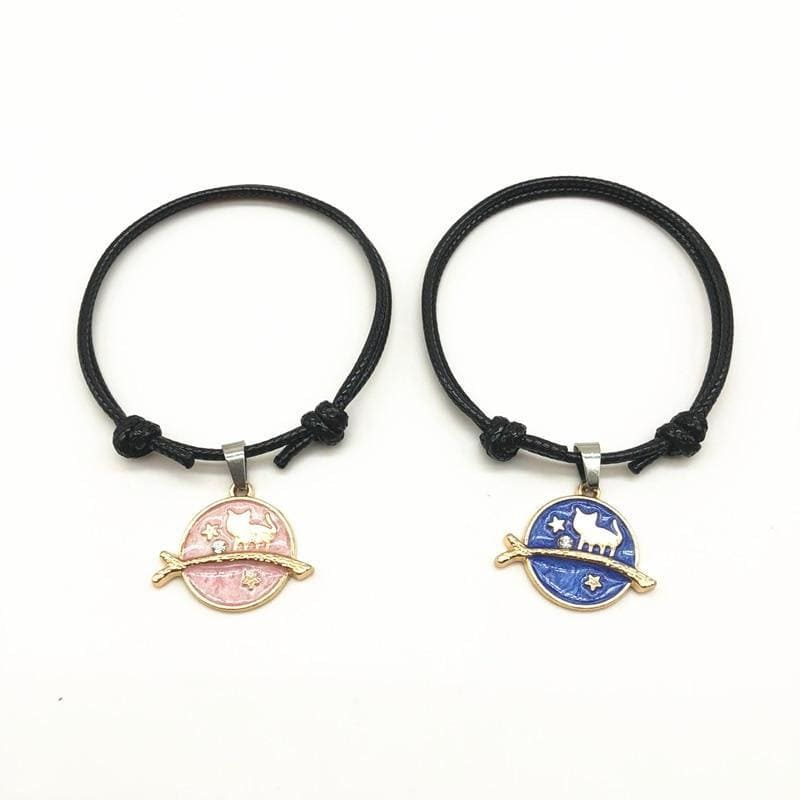 Bracelet Couple <br/> Chat