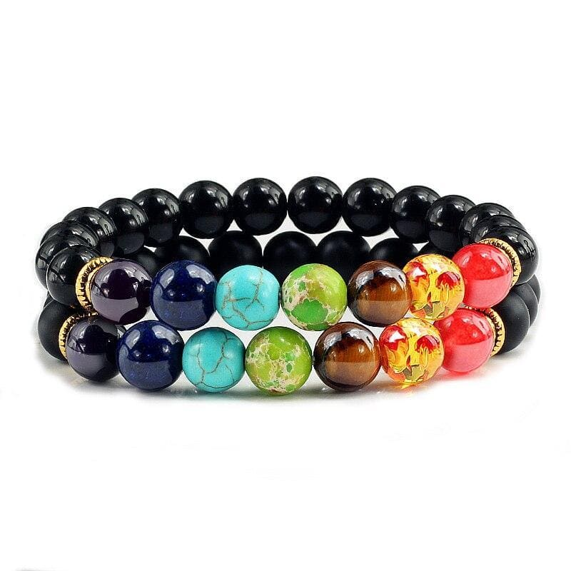 Bracelets Couple Distance Chakras