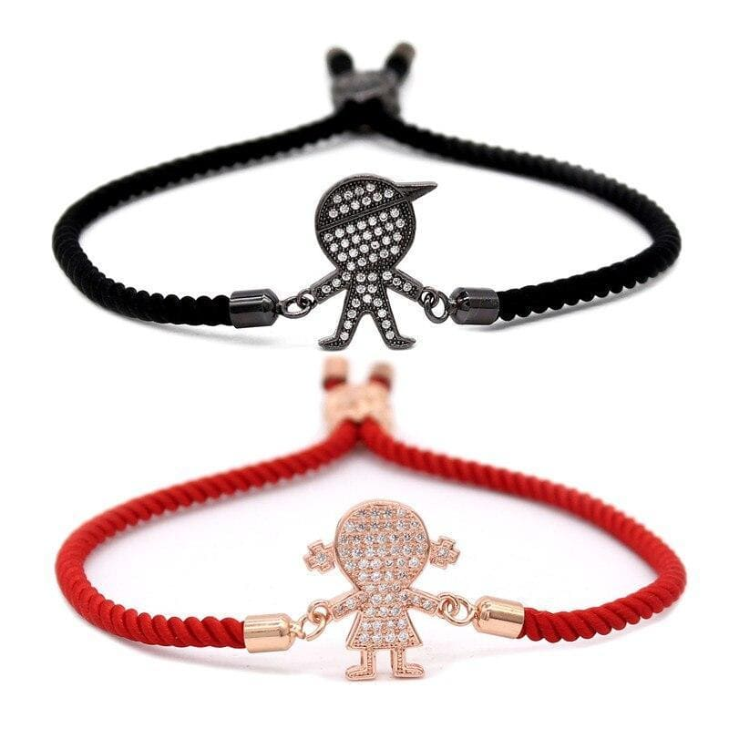Bracelets Couple Distance Enfant