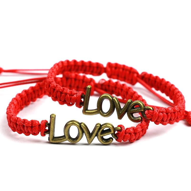 Bracelets Couple <br/> Tresse Love