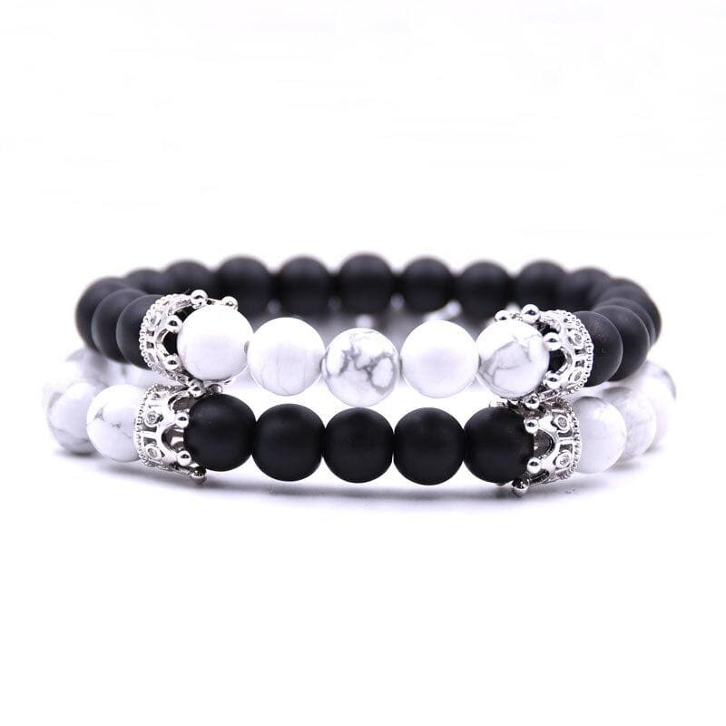Bracelets Couple Distance Yin Yang Royal