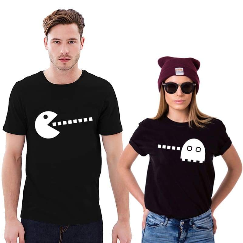 T Shirt Couple <br/> PacMan