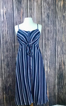 Load image into Gallery viewer, Spaghetti Striped Dress