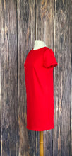 Load image into Gallery viewer, Red Short Sleeve Dress
