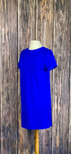 Load image into Gallery viewer, Royal Blue Short Sleeve Dress