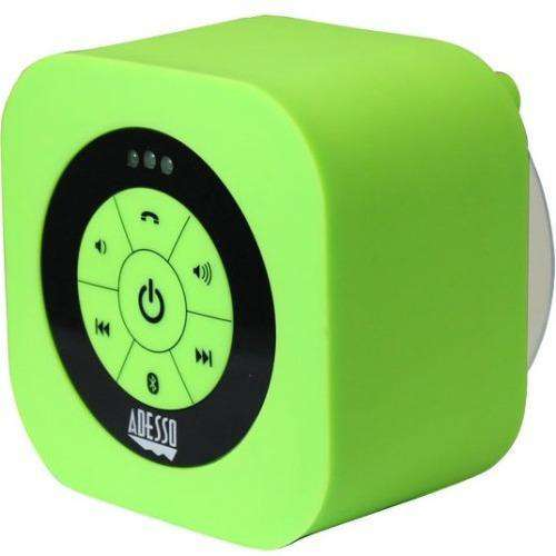 Adesso Xtream Xtream S1G Speaker System - Wireless Speaker(s) - Portable - Battery Rechargeable - Wall Mountable - Green