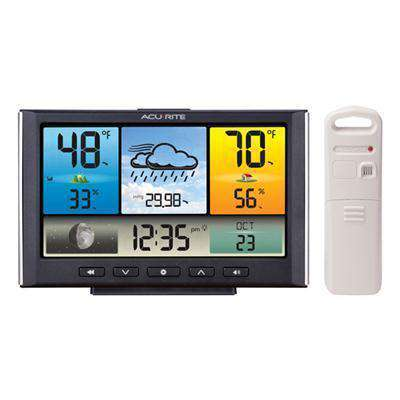 AcuRite Digital Weather Station - Weather Clock with Color Display