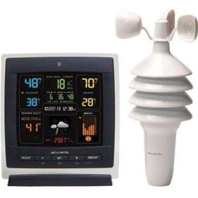 AcuRite Pro Color (Dark Theme) Weather Station with Wind Speed