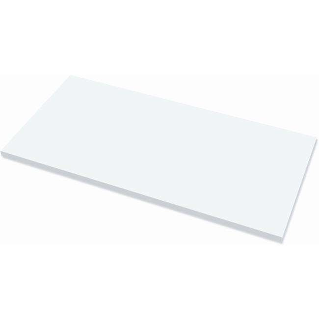 Fellowes Levado&trade Laminate Table Top White - 48
