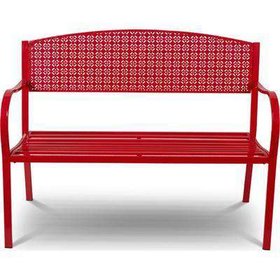 Bench Metal Red