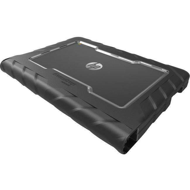 Gumdrop Drop Tech Case for Chromebook, Notebook - Black, Transparent
