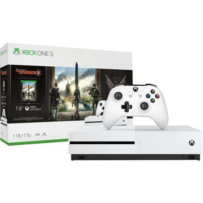 Microsoft Xbox One S Tom Clancy's The Division 2 Bundle (1TB)