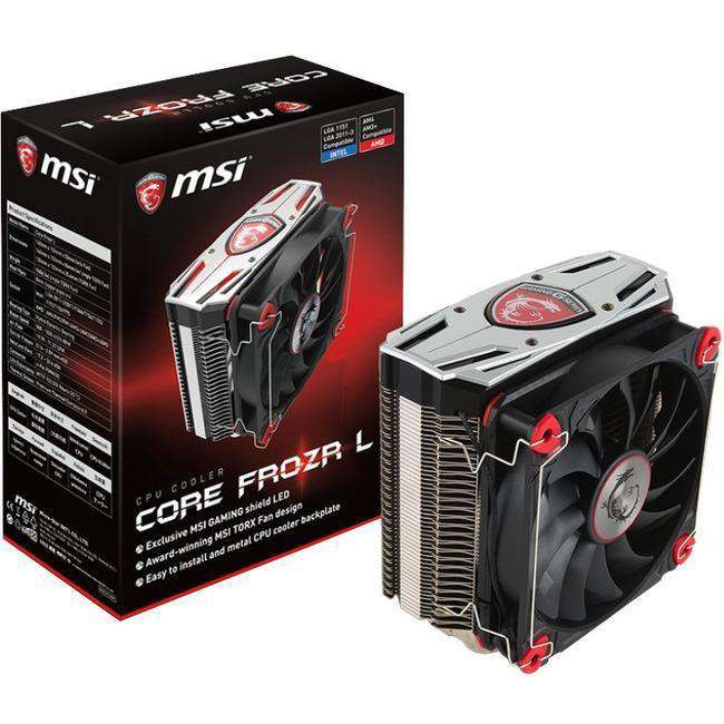MSI CORE FROZR L Cooling Fan Heatsink