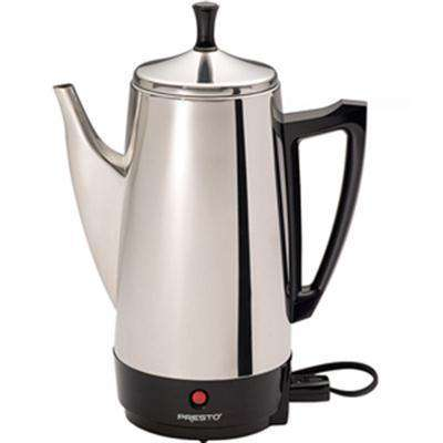 12 Cup Coffee Percolator SS