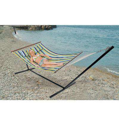 Double Cotton Hammock w stand