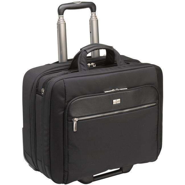 Case Logic CLRS-117 Black Travel-Luggage Case (Roller) for 17