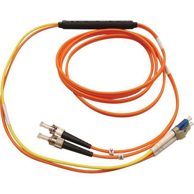 Tripp Lite 1M Fiber Optic Mode Conditioning Patch Cable ST-LC 3' 3ft 1 Meter