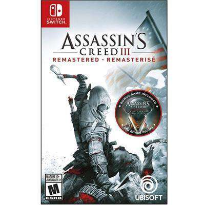 Assassins Creed III Rmst Swtch