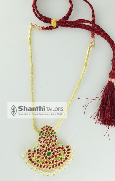 Saradu Pendent  Shanthi Tailors Margam Jewellery shanthi-tailors-private-ltd.myshopify.com Shanthi Tailors Private Ltd