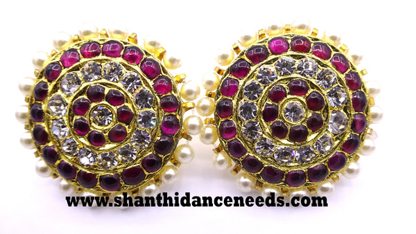 Temple Jewellery MUTHU STUD BIG