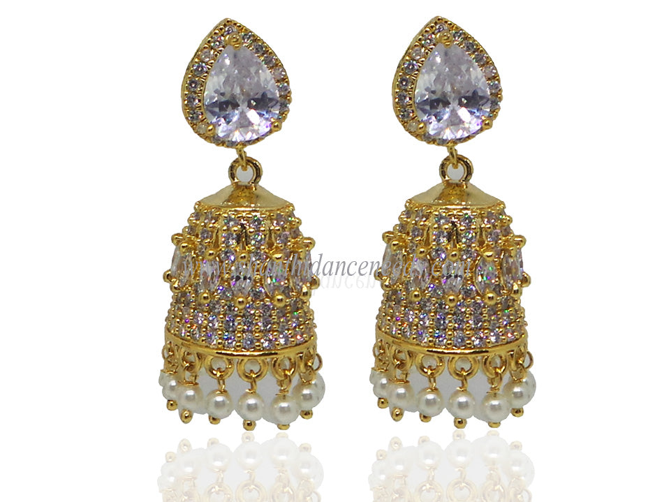 Zircons Earrings - F122