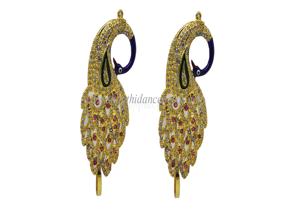 Zircons Earrings - F123