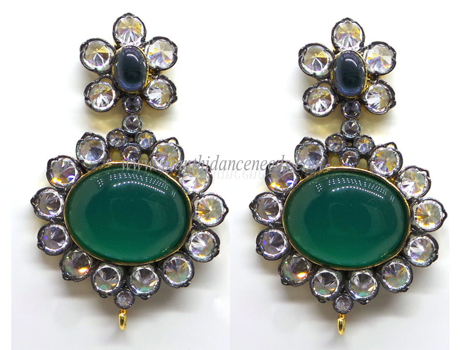 Zircons Earrings - F126