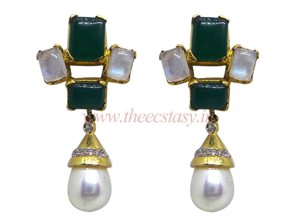 Zircons Earrings - F132