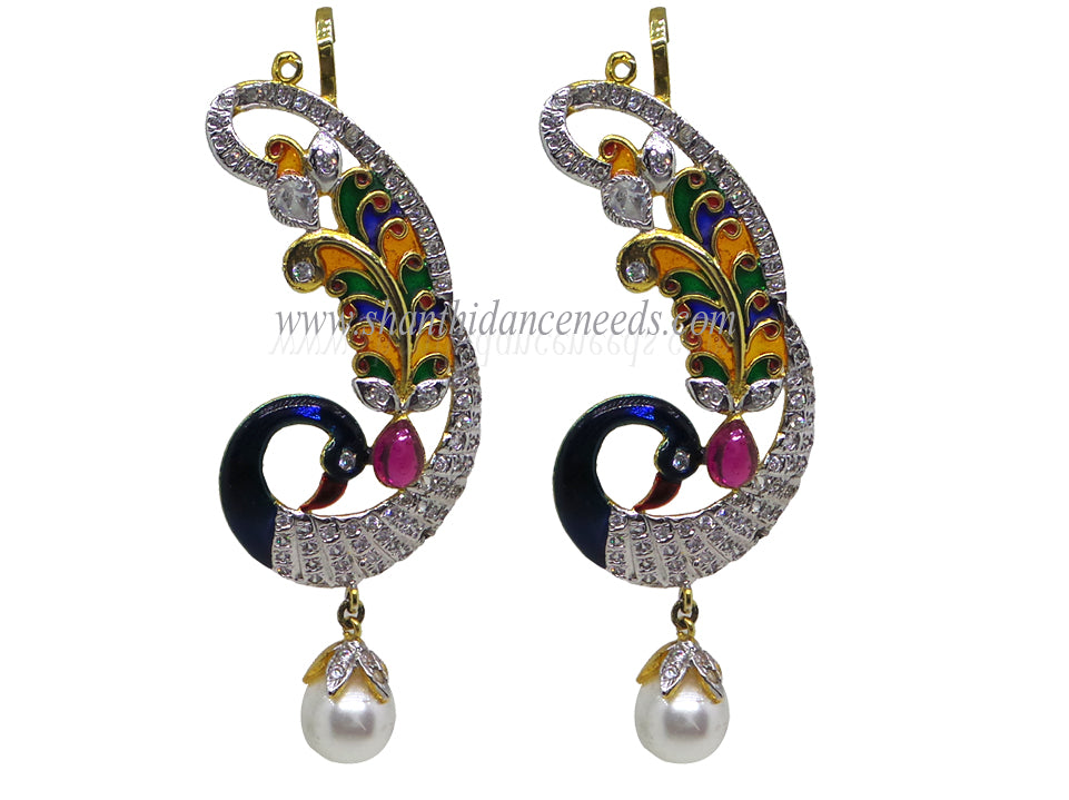 Zircons Earrings - F133