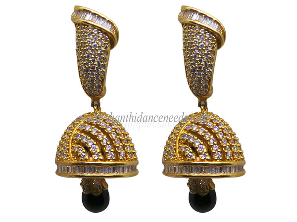 Zircons Earrings - F135