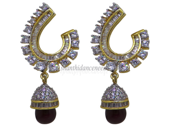Zircons Earrings - F137