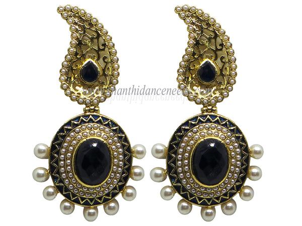 Zircons Earrings - F139
