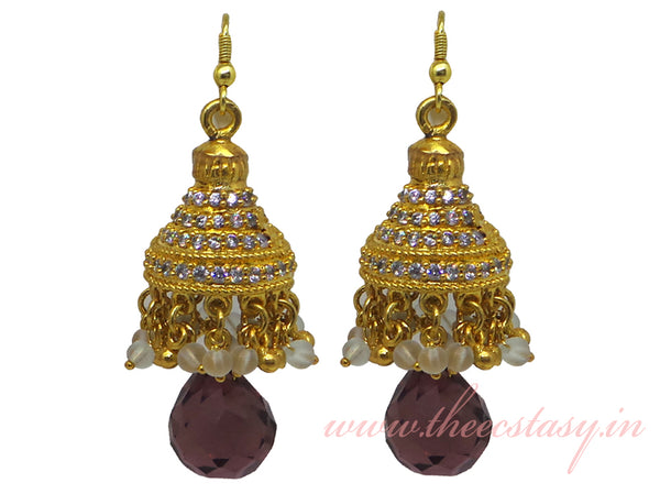 Zircons Earrings - F140