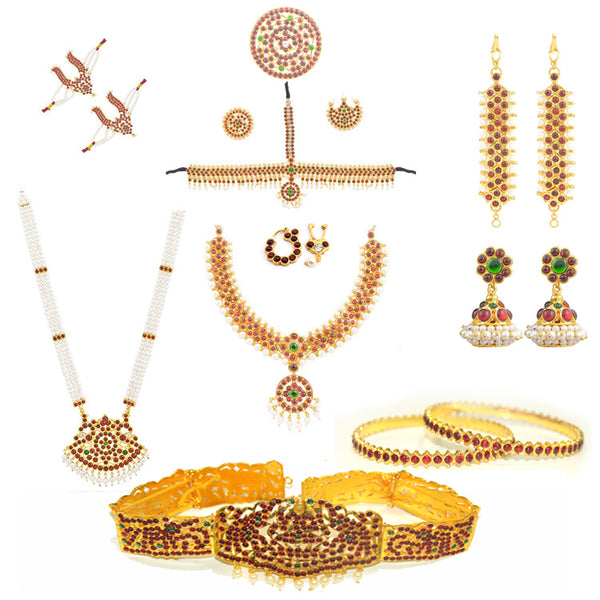 Bharathanatyam Dance jewels set