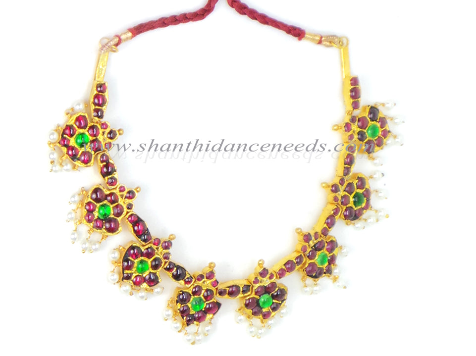 Temple Jewellery Magudam Necklace