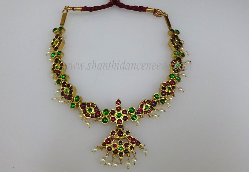 Temple Jewellery Short Necklace - New Model